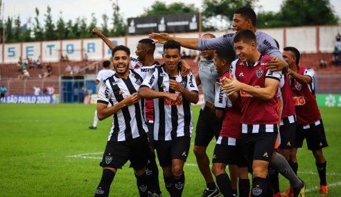 Com time ofensivo e rotatividade, Atlético-MG vai em busca de título inédito no Brasileirão sub-20