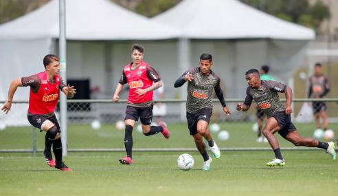 Time de transição do Atlético-MG passará por ciclos e rodízio de atletas