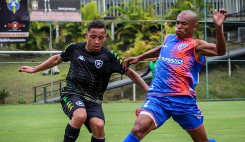 Botafogo sub-20 perde amistoso para o Duque de Caxias
