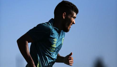 Chapecoense oficializa volta de atacante Bruno Silva