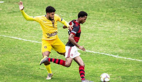 Gol de pênalti dá vitória ao Madureira sobre o Flamengo no Carioca sub-20