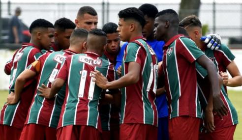 Atual bicampeão carioca, sub-17 do Fluminense volta aos treinos