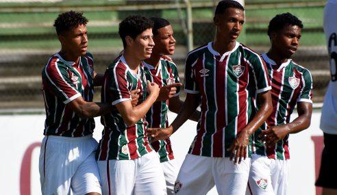 Fluminense supera pênalti e expulsão para vencer o Santos pelo Brasileirão sub-20