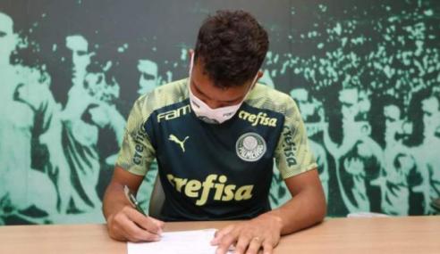 Gabriel Verón amplia seu vínculo com o Palmeiras