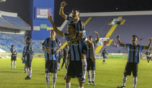 Preparando as próximas gerações, Grêmio quer aliar desempenho e resultado no Brasileirão sub-20