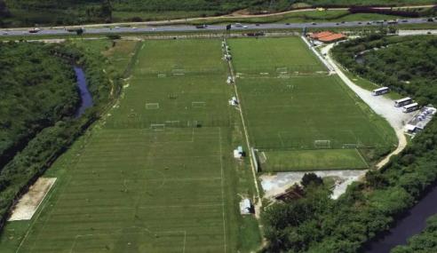 Palmeiras aguarda aval da CBF para mandar jogos no CT da base