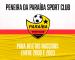 Paraíba SC-PB realizará peneira no próximo sábado (12)