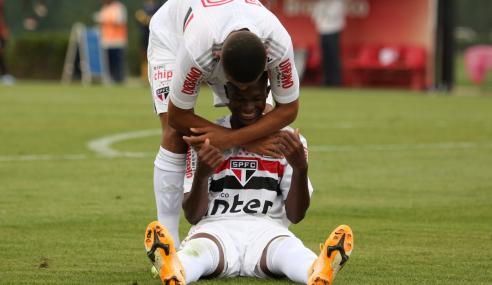 São Paulo derrota Athletico-PR em sua estreia no Brasileirão sub-20