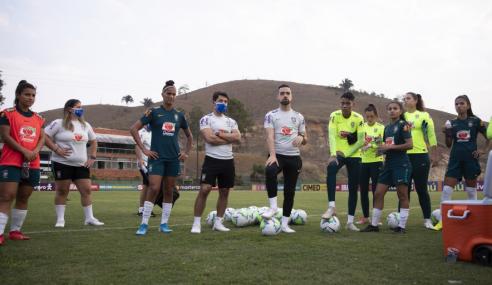 Seleção feminina sub-20 é convocada para treinos finais antes do Sul-Americano