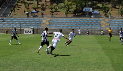 Atlético-MG e Corinthians empatam pelo Brasileiro sub-20