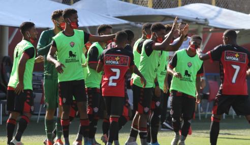Vitória tem grupo de atletas do time sub-20 infectados pela COVID-19