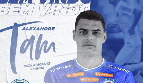Confiança fecha com jovem meia-atacante do Santos