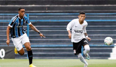 Corinthians estreia no Brasileiro sub-20 com vitória sobre o Grêmio