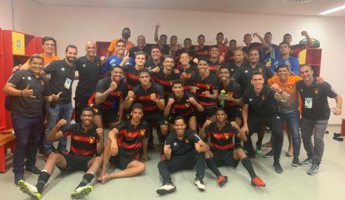 Gol solitário garante estreia vitoriosa do Sport Recife no Brasileiro sub-20