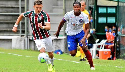 Brasileiro sub-20: Fluminense estreia com vitória em casa diante do Bahia