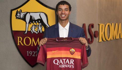 Roma-ITA apresenta jovem lateral proveniente do Paris Saint-Germain-FRA