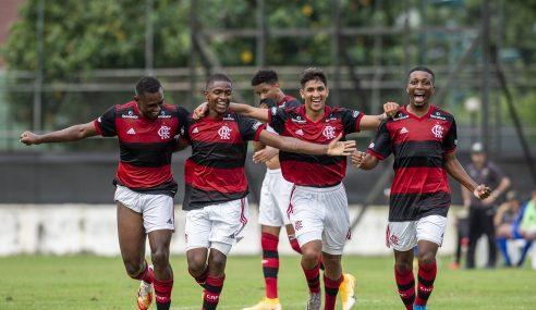 Flamengo goleia Volta Redonda por 6 a 0 no Carioca sub-20