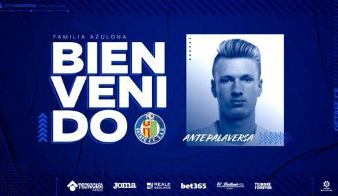 Manchester City-ING empresta Ante Palaversa ao Getafe-ESP