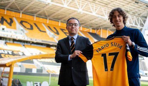 Porto-POR vende jovem Fábio Silva ao Wolverhampton-ING