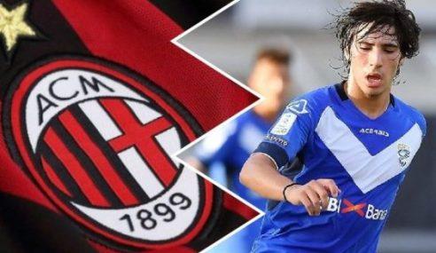 Milan-ITA contrata Tonali por empréstimo junto ao Brescia-ITA