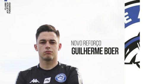 Tubarão traz dois jovens para a Série D do Brasileiro