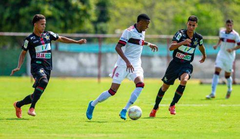 Carioca Sub-20: Portuguesa e Flamengo empatam em partida com quatro gols