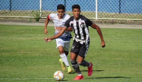 Carioca Sub-20: Botafogo tropeça mais uma vez