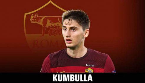 Roma-ITA apresenta jovem zagueiro vindo por empréstimo do Hellas Verona-ITA