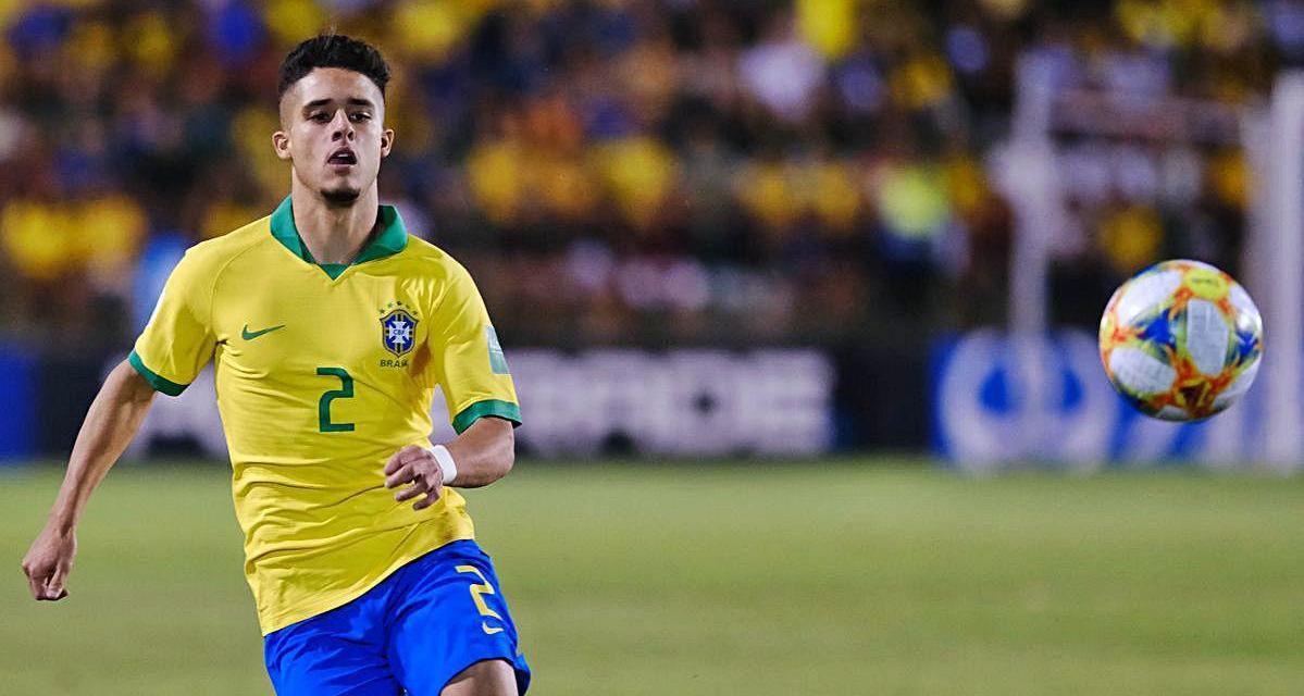 Manchester City-ING empresta lateral brasileiro Yan Couto ao Girona-ESP