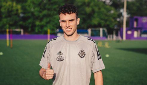 Real Madrid-ESP empresta lateral de 21 anos ao Valladolid-ESP