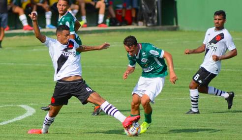 Vasco da Gama é o único grande na semifinal da Taça Guanabara sub-20