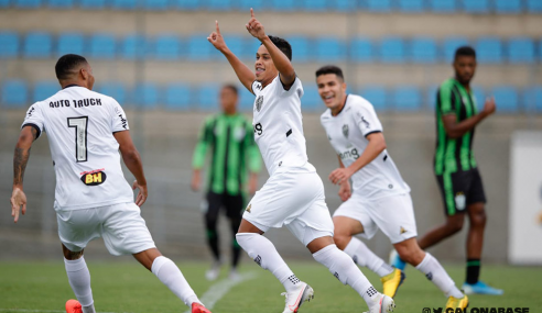 Atlético-MG vence clássico contra América-MG e dorme em terceiro no Brasileirão sub-20