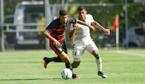 Sport Recife vence América-MG e se isola na liderança do Brasileirão sub-20