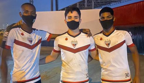 Atlético-GO fecha com trio do Jabaquara-SP para o sub-17