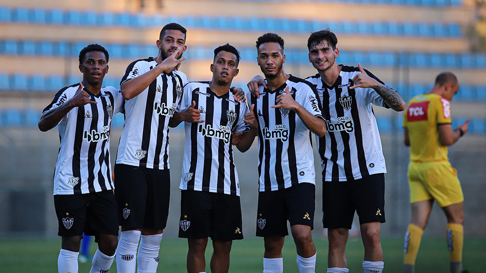 Atlético-MG volta a vencer Bragantino-PA e avança às quartas da Copa do Brasil sub-20