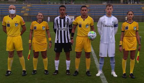 Brasileirão sub-17: Atlético-MG e Grêmio empatam sem gols