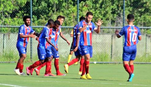 Bahia leva virada, mas bate Ceará nos pênaltis e avança na Copa do Brasil sub-20