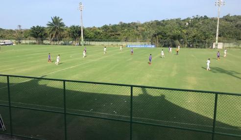 Bahia marca no fim e vence a Chapecoense pelo Brasileirão sub-17