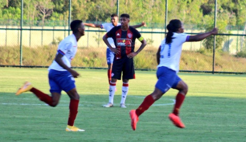 Com gol no fim, Bahia vence Ba-Vi do Brasileirão sub-20