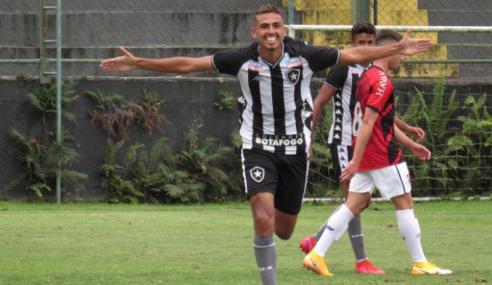 Botafogo bate Athletico-PR, vence a primeira e deixa a lanterna do Brasileirão sub-20