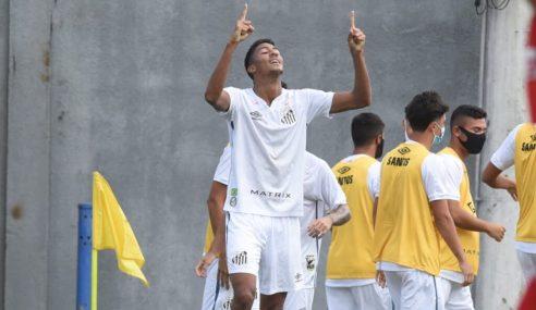 Artilheiro aparece e Santos vence CRB pelo Brasileirão de Aspirantes
