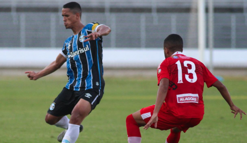 CRB e Grêmio ficam no empate em estreia no Brasileirão de Aspirantes