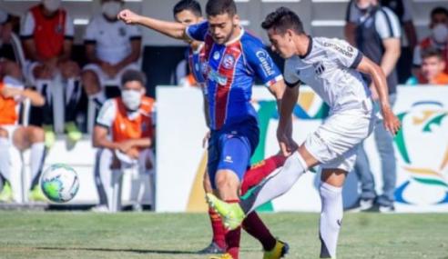Fora de casa, Bahia aproveita expulsão e vence Ceará pela Copa do Brasil sub-20