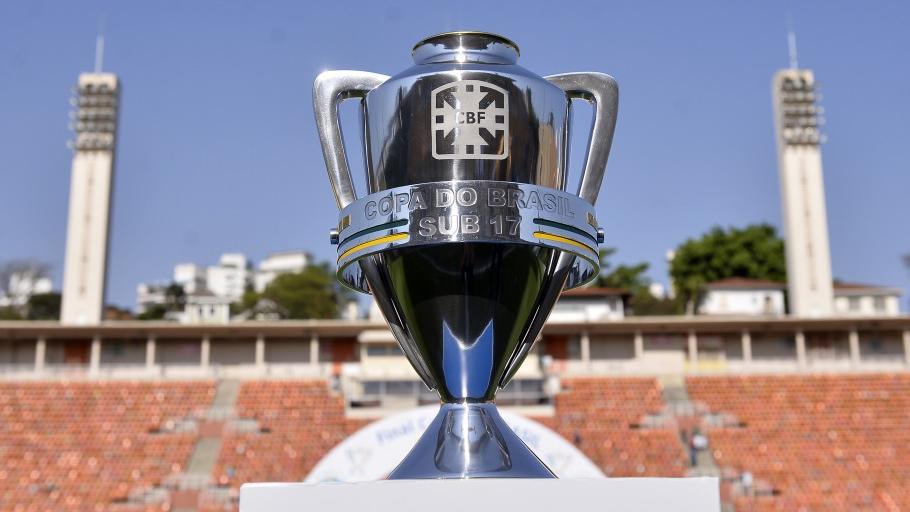 Copa do Brasil sub-17 tem duelos da primeira fase definidos