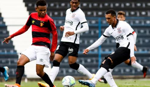 Corinthians mata jogo no contra-ataque e bate Sport Recife pelo Brasileirão sub-17