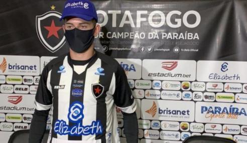 Botafogo-PB anuncia a contratação de jovem atacante do Brasil de Pelotas