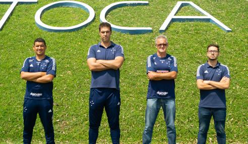 Cruzeiro anuncia mudanças em cargos de supervisão da base