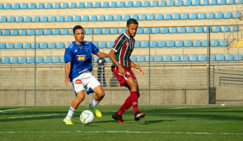 Gol nos acréscimos dá vitória ao Fluminense sobre o Cruzeiro pelo Brasileirão sub-17