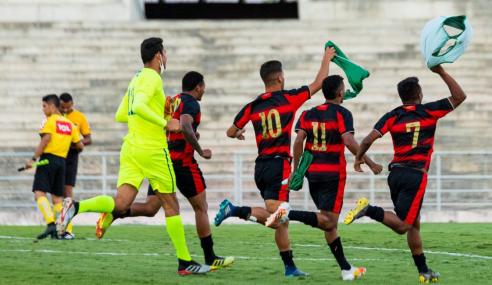 Nos pênaltis, Sport Recife elimina Desportiva Perilima e vai às oitavas da Copa do Brasil sub-20