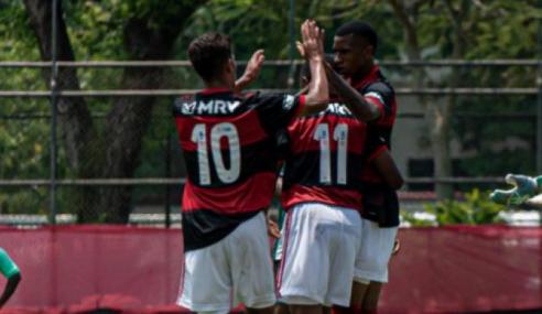 Flamengo goleia o Boavista e segue 100% na Taça Rio sub-20